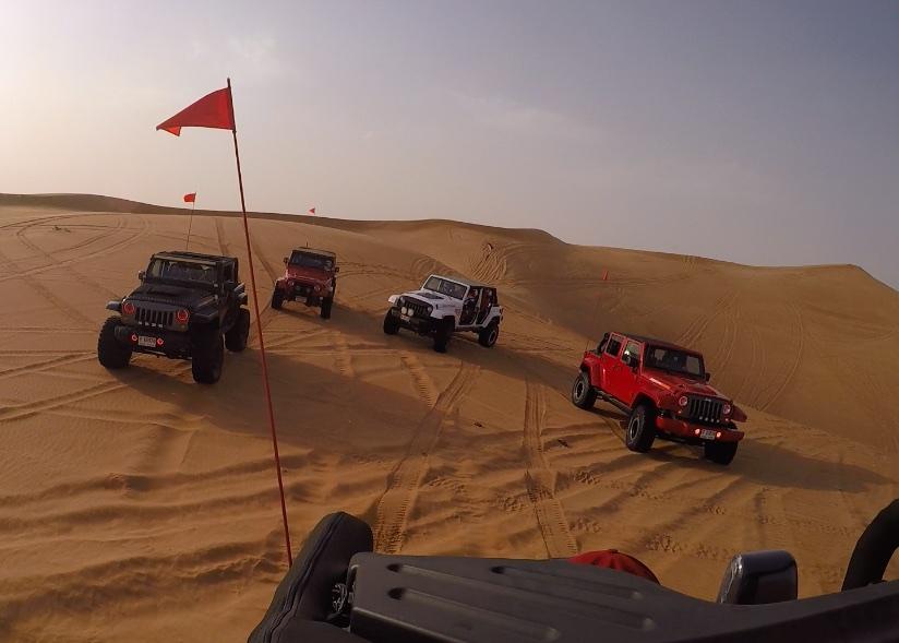 DeziStyle Dune Bashing