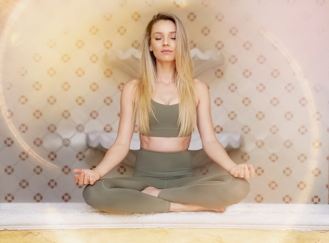 Desi Chance meditation athleisure wellbeing in IVL Collective
