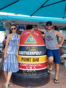 Southernmost Pointe Bar, Key West, Florida buoy