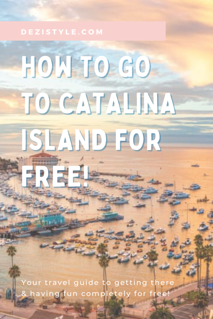How to go to Catalina Island for free