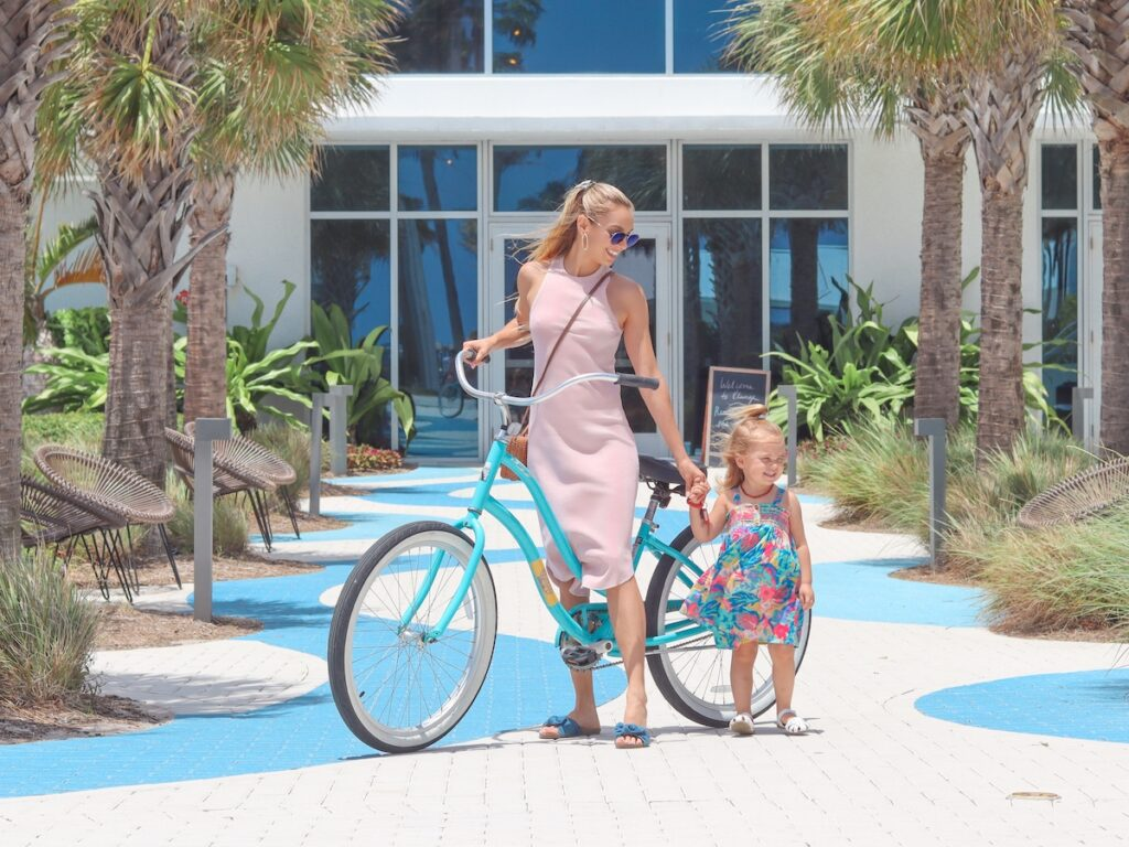 DeziStyle Plunge Beach Resort Lauderdale by the Sea Staycation Bicycles