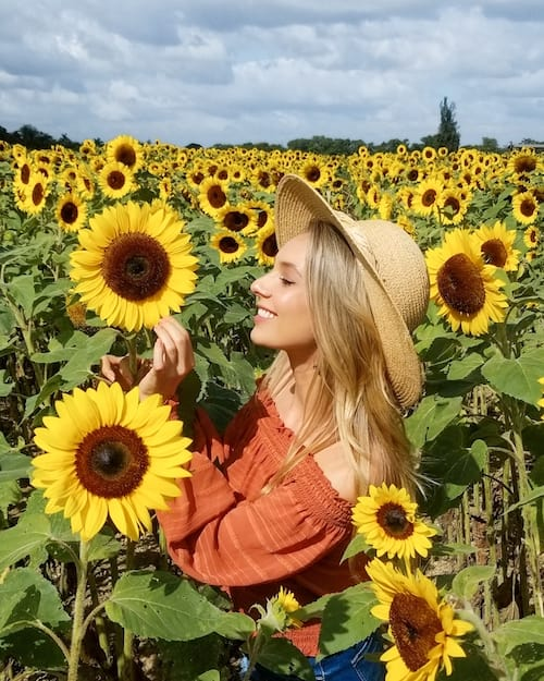 DeziStyle Travel & Adventure blog - The Berry Farms - Insta-worthy sunflower field in Miami Florida